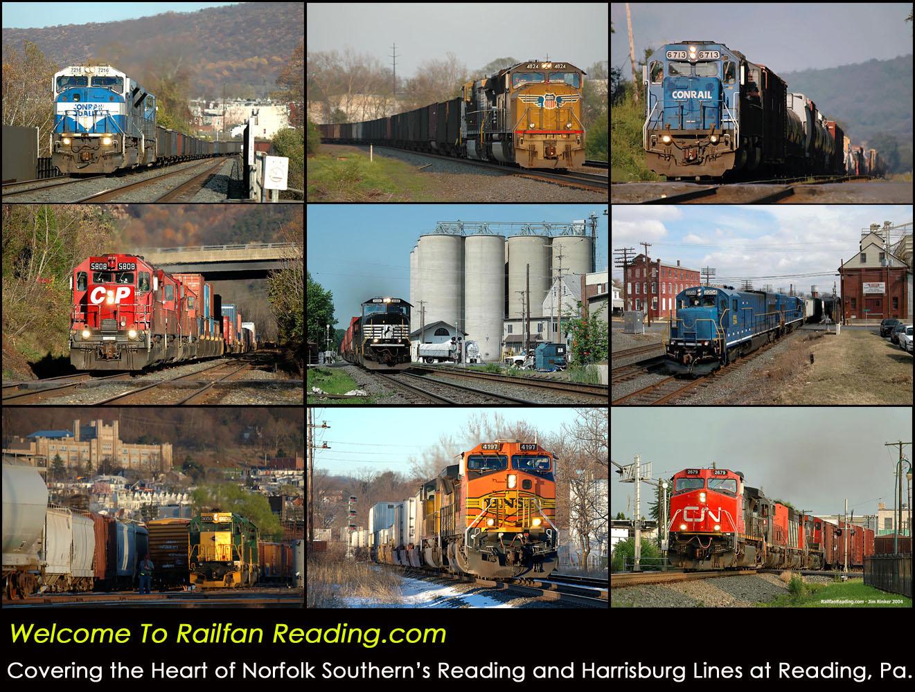 Railfanning Reading