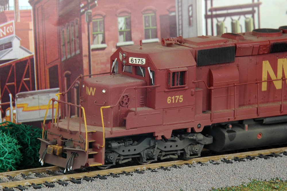 Ho Scale Diesel And Rolling Stock Weathering And Detailing